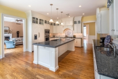 67 West Rose Valley Road  |  Kitchen with granite counter tops