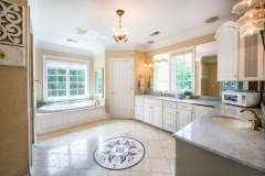 67 West Rose Valley Road  |  Luxurious Master Bath with radiant heated floor